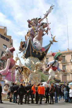A guide to the different fallas at the Las Fallas festival in Valencia, Spain