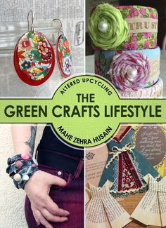 Green Crafts Lifestyle Book is out!!!