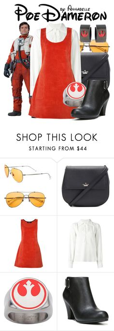 """""""Poe Dameron"""" by annabelle-95 ❤ liked on Polyvore featuring Gucci, Kate Spade, See by Chloé and Fergalicious"""