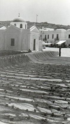 #Mykonos #waterfront in 1955!