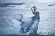 Hulda - Model: Hulda, Makeup/hair: Grace Gray. Styling: Minna Attala. Producer: Miss Aniela. Photography: Lisa Griffin