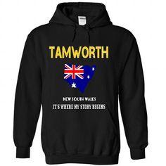 TAMWORTH- Its where my story begins! - #shirt hair #tshirt sayings. GET YOURS => https://www.sunfrog.com/No-Category/TAMWORTH-Its-where-my-story-begins-8647-Black-Hoodie.html?68278