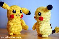 Pikachu: Free crochet pattern
