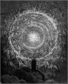 Divine Comedy's Beatific Vision by Gustave Dore