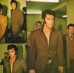 July, 1969. I've always loved Elvis in this very elegant and sexy outfit! ;)