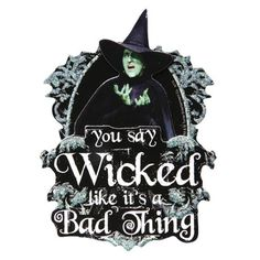 3-D WICKED WITCH MAGNET at What on Earth | CH0822