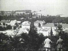 1930.  Balatonboglár.