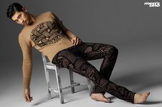 Godfrey Gao Dons Louis Vuitton for Mens Uno Malaysia