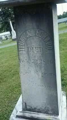 Truman Leonard (father of Truman Leonard) Chatham, Ohio Cemetery