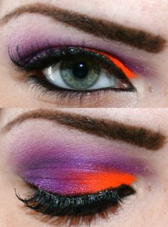 I'd love a reason other than Halloween to try make up like this.
