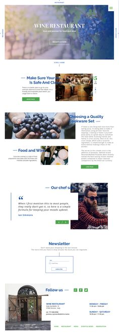 Wine House Winery  Restaurant Theme Restaurant themes and - Examples Of Resumes For Restaurant Jobs