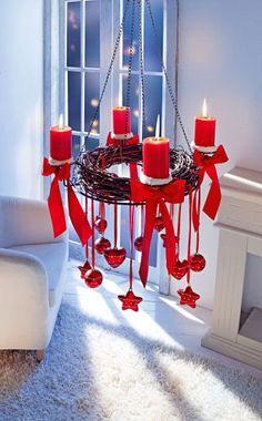 lovely advent wreath