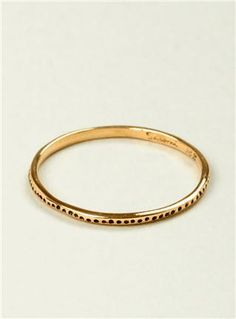 Couverture and The Garbstore 18 carat gold ring
