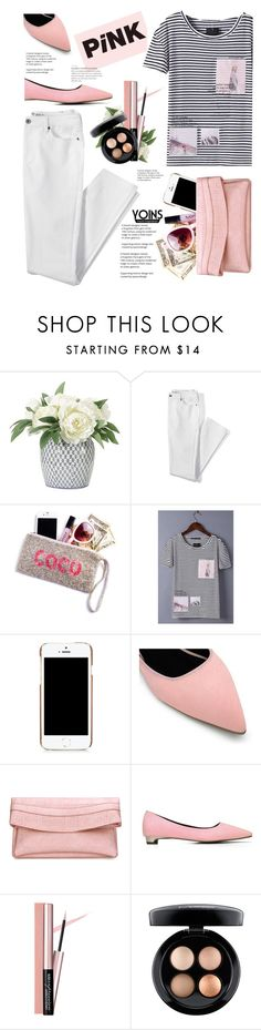 """""""Yoins"""" by yexyka ❤ liked on Polyvore featuring NDI, Lands' End, Moschino, MAC Cosmetics, summerbrights, yoins and yoinscollection"""
