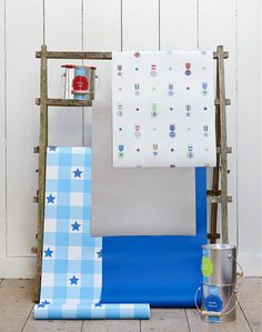 Newest Lief! Lifestyle Wallpaper Collection! Hip Lief Lifestyle Boys Wallpaper for the Nursery & Childern's Room! #LiefLifestyle #Wallpaper