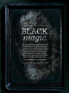 Donna Hay Black issue | Black Magic | Black & Grey