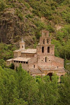 Monestir de Gerri de la Sal ,  Pallars Sobirà  Lleida  Catalonia