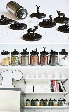 Meine DIY Vorratsgläser und Gewürz-Aufbewahrung in der neuen IKEA Küche & free printable