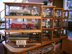 Hess truck display boxes