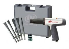 "Ingersoll Rand Air Hammer Kit, 3-1/2"" Stroke, Vibration Reduced, 118MAXK  This long barrel hammer will deliver the punch you need to get the job done fast and comfortably! Great for exhaust and front-end jobs, general bolt cutting, pin driving and body shearing work."