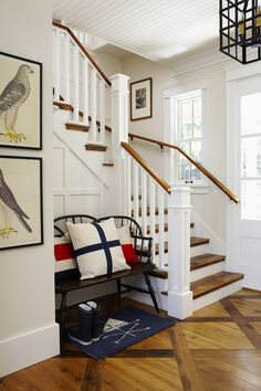 I love the vintage bird prints, and there are a lot of other really inspiring pictures on this site   Muskoka Living