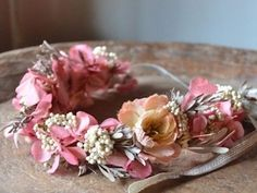 Want to keep your flower crown? Use faux flowers!
