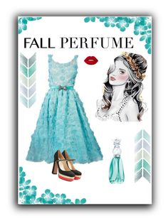 """""""Fun Fall Fragrance"""" by lourdes-dominguez ❤ liked on Polyvore featuring beauty, Anna Sui, Oscar de la Renta, Lime Crime and Valentino"""