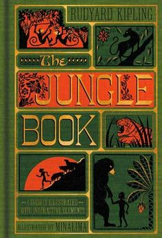 The second in Harper Design's newest series of deluxe reimagined children's classics, this new unabridged gift edition takes readers into the heart of the jungle with specially commissioned artwork and nine exclusive interactive features.
