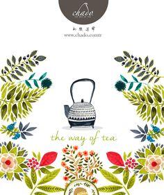 #chado #tea #illustration
