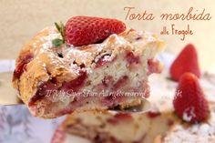 Torta morbida alle fragole e yogurt ricetta facile. Ricca di gusto e semplicità,con un inebriante profumo.Lo yogurt aiuta la lievitazione e la rende soffice