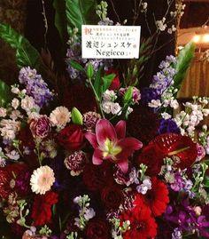 シンシュンシュンチャンショーに行って参りました。Negicco様からのお花が届いておりましたよ。