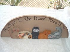 Together is the nicest place to be by woodenwhimsie on Etsy, $15.95