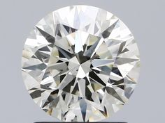 1.32 Carat Round Loose Diamond, K, SI1, Super Ideal, IGI Certified