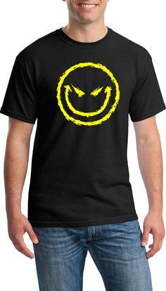Evil Smiley Face Men's T-Shirt Smiley Face T-Shirt by casestore347
