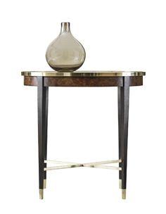 Henredon Oval End Table
