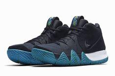 2af50604bdf8 Nike Kyrie 4 IV Think Twice Dark Obsidian Navy Black Irving Celtics 943806  401