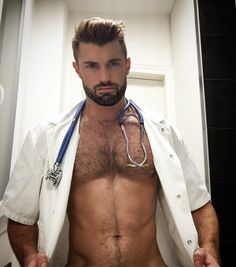 If he's a hairy, hot + beautiful man.you'll find him on here Hairy Hunks, Hairy Men, Bearded Men, Scruffy Men, Awesome Beards, Men In Uniform, Raining Men, Hairy Chest, Guy Pictures