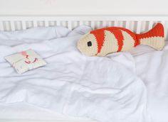 Fisch (82 cm) in mandarine