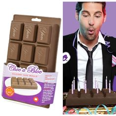 Molde pastelero tableta de chocolate