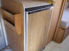 gas/electric fridge