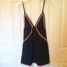 NWT BLACK NIGHTY NWT! Super soft and silky  **remember to bundle and save 10%** no holds/trades PRICE IS FIRM UNLESS BUNDLED Victoria's Secret Intimates & Sleepwear Chemises & Slips