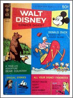 Walt Disney Comics Digest: No. 20 (02/1970)