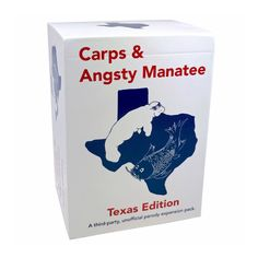 Carps & Angsty Manatee: Texas Edition – A 150-Card Expansion for Depraved Texans - Texas Humor Store - 1