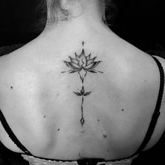 Abstract Mandala Lotus Flower Tattoo by Bartek - Selfmade Tattoo Berlin