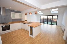 4 bed property for sale in Woodlands, London Open Plan Kitchen Dining Living, Open Plan Kitchen Diner, Kitchen Layout, Kitchen Design, Kitchen Family Rooms, Living Room Kitchen, Home Decor Kitchen, Kitchen Interior, Kitchen Ideas