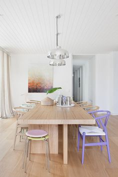 Wooden and Pastel Melbourne Home | Made From Scratch