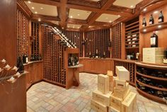 A dream wine cellar in a Wisconsin mansion | WISN Home - Mansion Mondays
