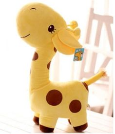 Yellow Cute Giraffe Plush Toys Doll Soft Stuffed Dolls - Small 26cm Soft Toys http://www.amazon.com/dp/B00HO208MM/ref=cm_sw_r_pi_dp_T9z7tb0K5AZ3Y