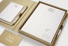 Sandy Lane brand identity by Inaria. Luxury hotel brand identity and design.