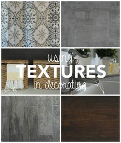 A Simple Guide to Using Textures in Decorating - Sypsie Designs